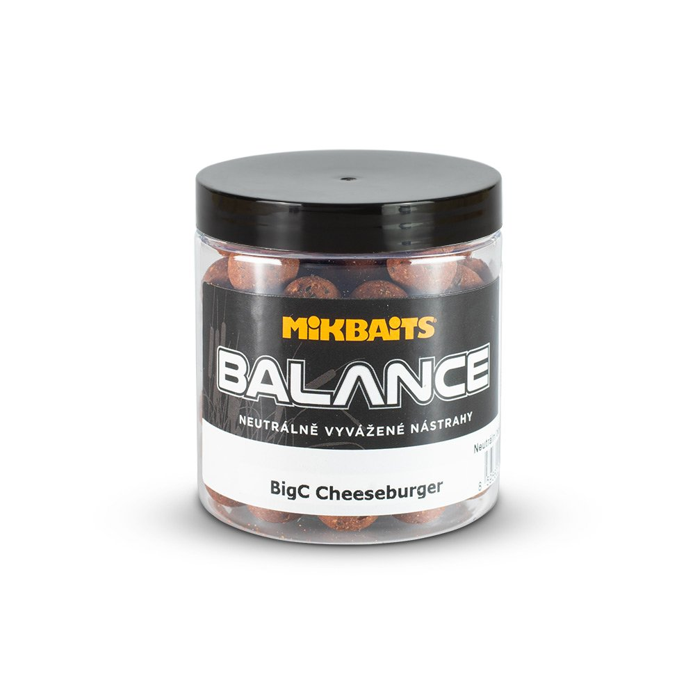 Mikbaits BiG boilie balance BigC Cheeseburger 20mm/250ml