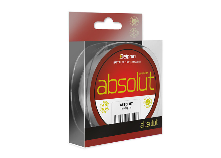 Delphin Vlasec ABSOLUT 0,18mm/6,9lbs/300m