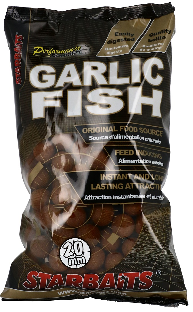 Starbaits Boilies Concept Garlic Fish 20mm/1kg