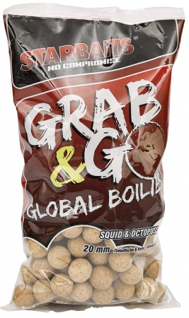 Starbaits Boilies G&G Global Squid & Octopus 20mm/1kg