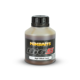 Mikbaits BiG booster BigS Oliheň Javor 250ml