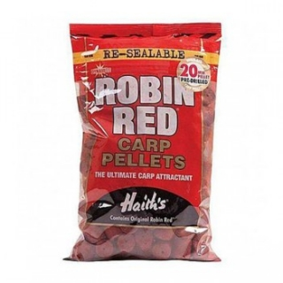 Dynamite Baits Pellets Robin red pre-drilled 20mm/900g
