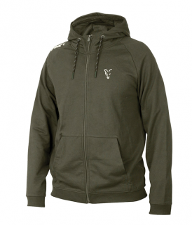 Fox Mikina Collection Green Silver Lightweight Hoodie