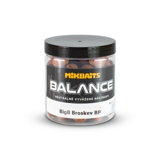 Mikbaits BiG boilie balance BigB Broskev Black pepper 20mm/250ml