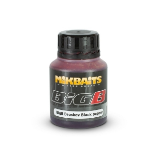 Mikbaits BiG ultra dip BigB Broskev Black pepper 125ml